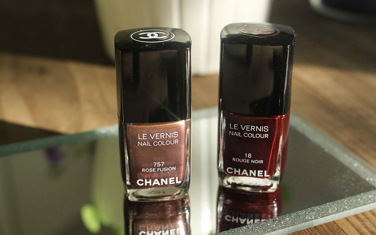 chanel rouge noir smalti