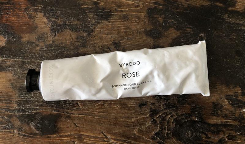 Byredo rose gommage: perché lo scrub mani è bellissimo